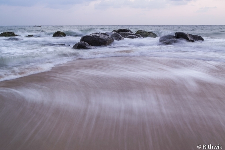 retreat - seascape, landscapes, fineartphotography - rithwik-6418 | ello