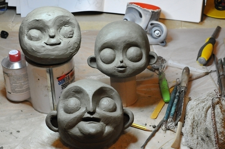 clay modelling - animation, stopmotion - kriospecialk | ello