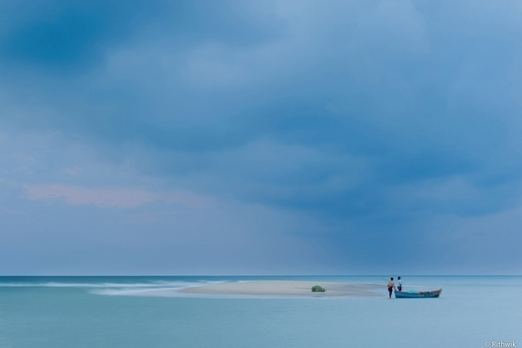 Fishermen - seascape, photography - rithwik-6418 | ello