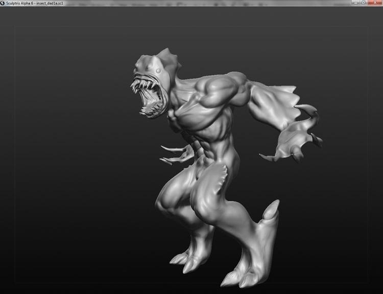 Monster - monster, 3d, sculpture - janderson-7361 | ello