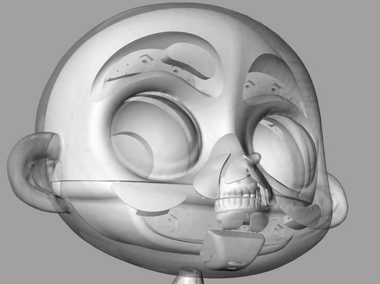 modelind mechanism - animation, 3dmodel - kriospecialk | ello