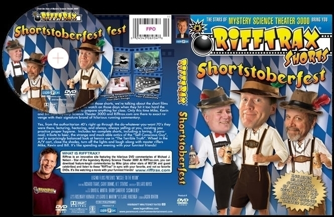DVD cover disc design RiffTrax  - jasonmartin-1263 | ello