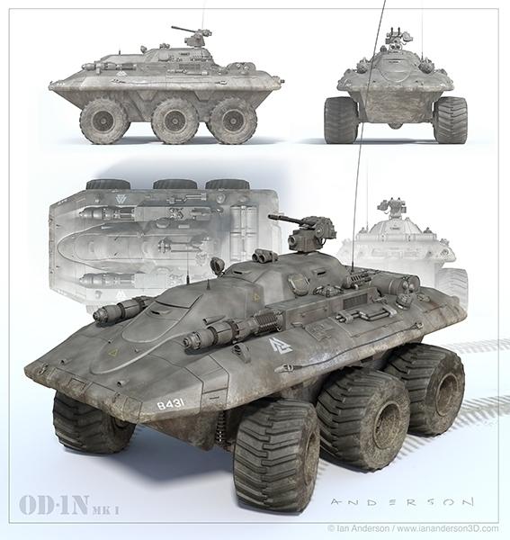 Future Tank - iananderson3d, 3d - iancredible01 | ello