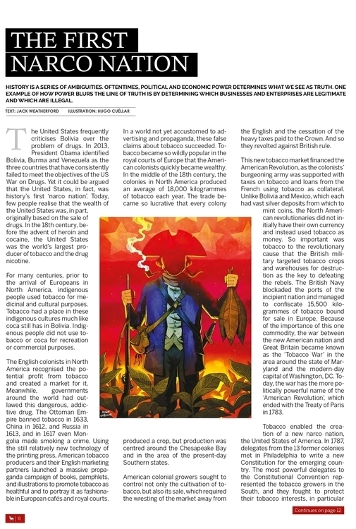 Bolivian Express: Editorial Ill - hugocuellar | ello