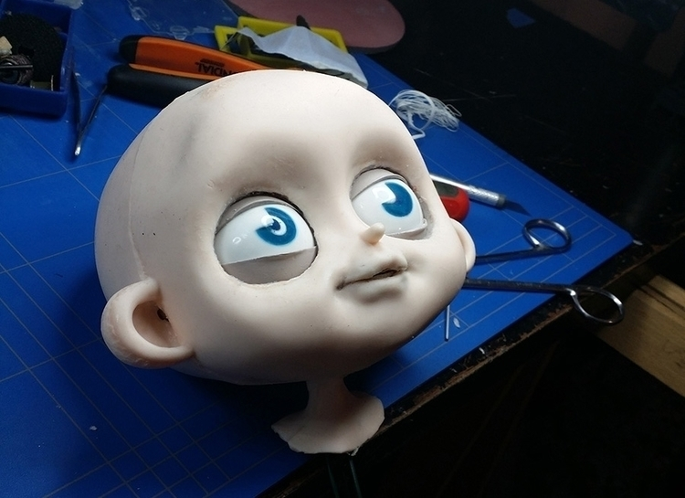 head assembled - stopmotion, animation - kriospecialk | ello