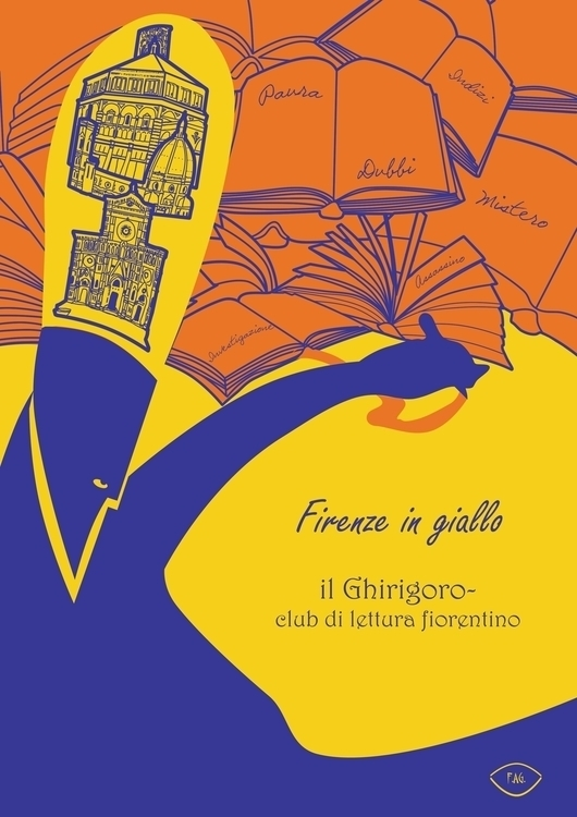 illustration book club Florence - fagfedericaaglietti | ello