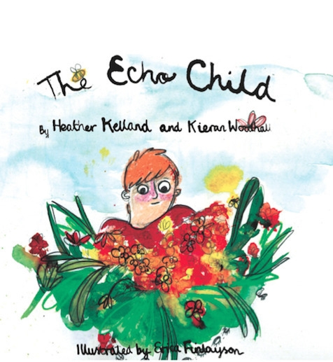 Echo Child book cover - echo, child - finlaysonillustration | ello
