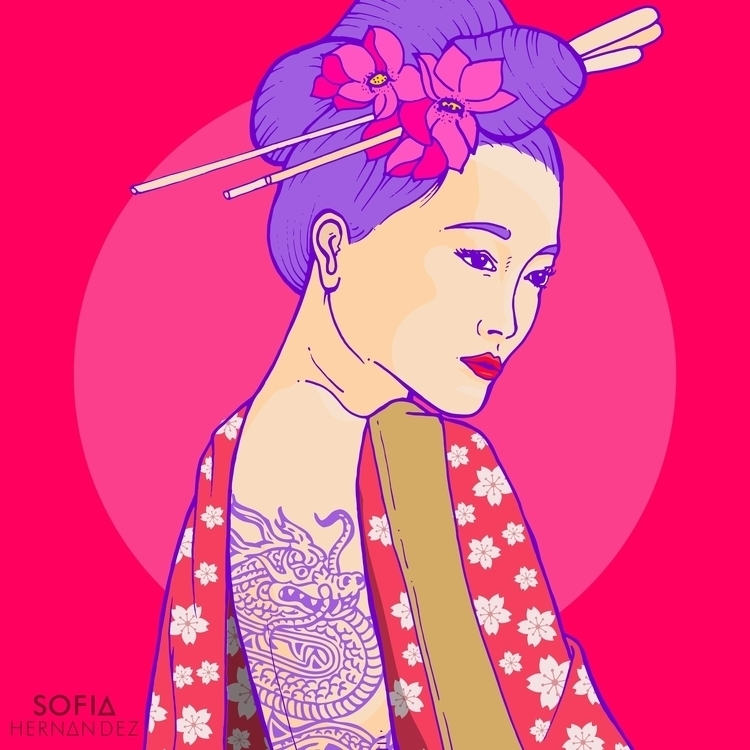 Oriental, Distintas mujeres tod - sofiahernandez_art | ello