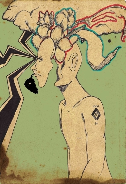 Ambient Distortion - illustration - mridlehands | ello