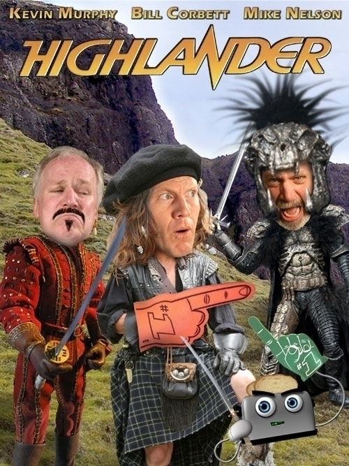 Highlander poster RiffTrax - MST3K - jasonmartin-1263 | ello