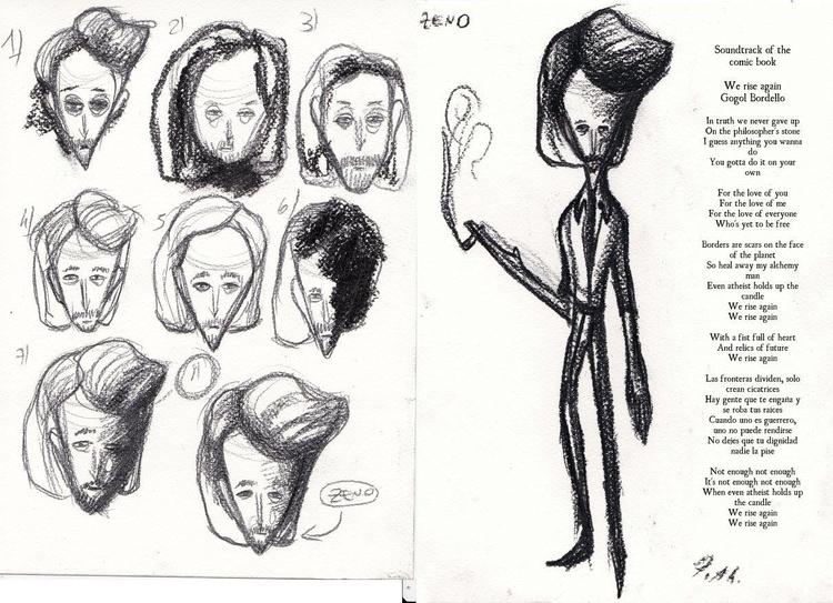 Character design, protagonist.  - fagfedericaaglietti | ello