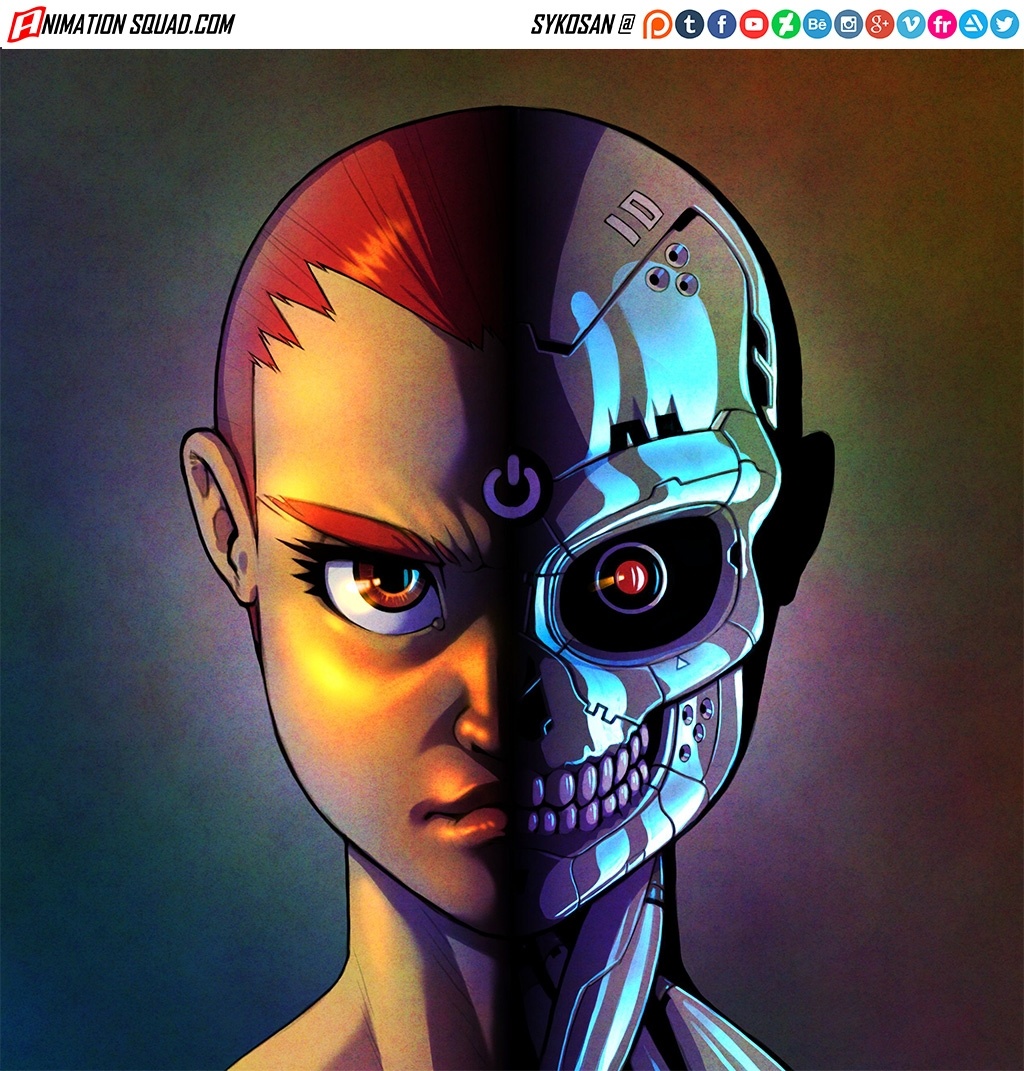 Side. Illustration character Da - sykosan | ello