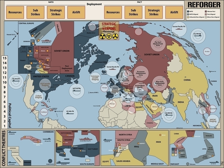 Reforger - Board game WW3 scena - robertaltbauer | ello