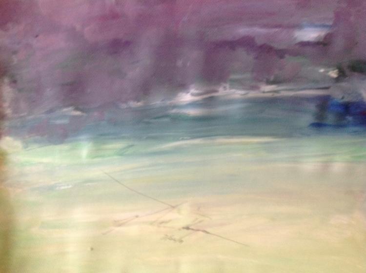 abstract peace skyline - beauty - loveart_wonders   ello