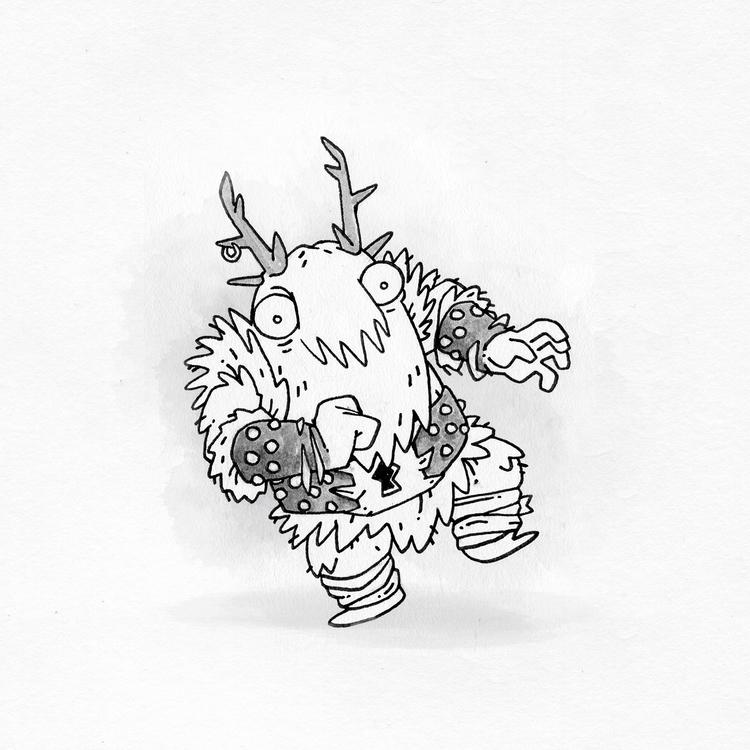 Day 11 - doodle, illustration, ink - colinbrown-7810 | ello