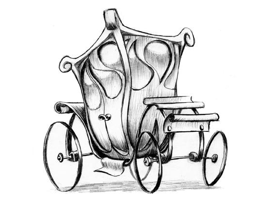 carriage... horses - illustration - erwin-1306 | ello