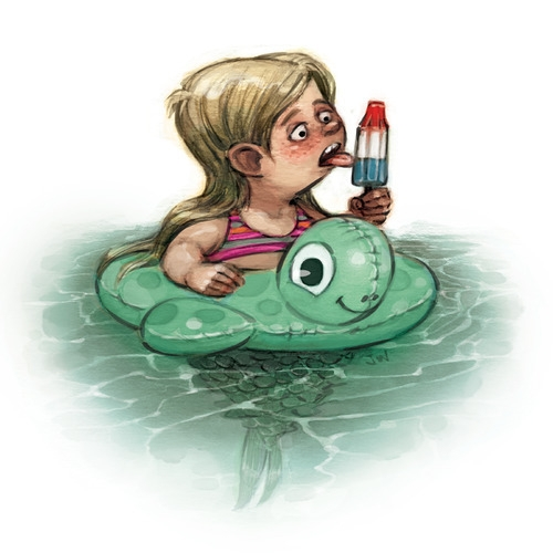 lucy, humor, funny, illustration - jessicawarrick | ello