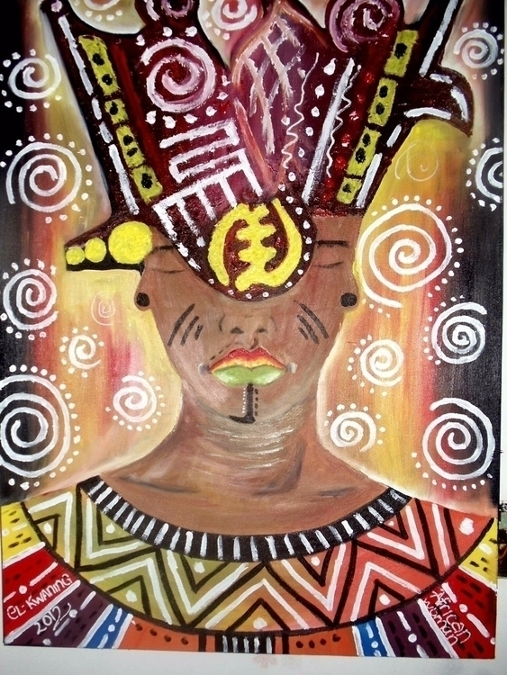 Title: AFRICAN WOMAN Dimension - mrkwaning | ello