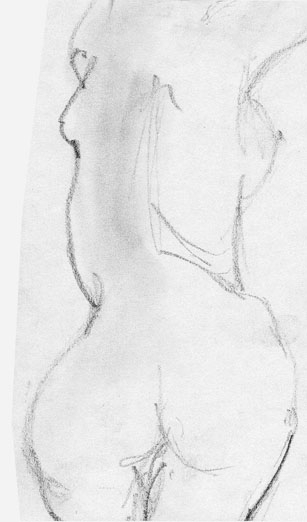 illustration, drawing, nude, sketch - cs-2874 | ello