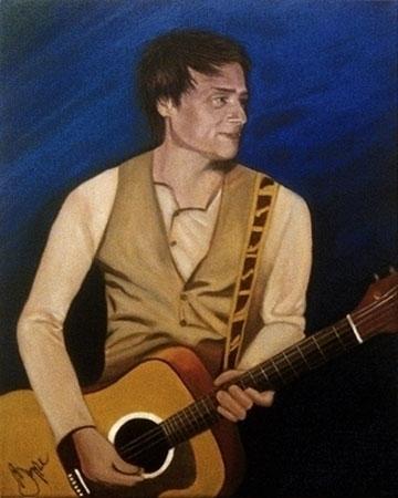 Gordon Deppe Spoons - portrait, acrylicpainting - sylverdesign   ello
