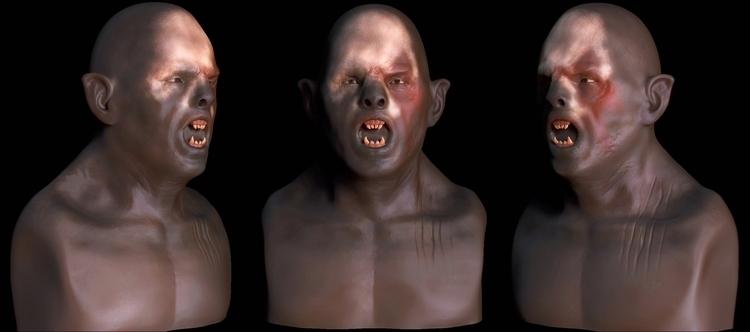 Orcs - characterdesign, digitalart - art15 | ello
