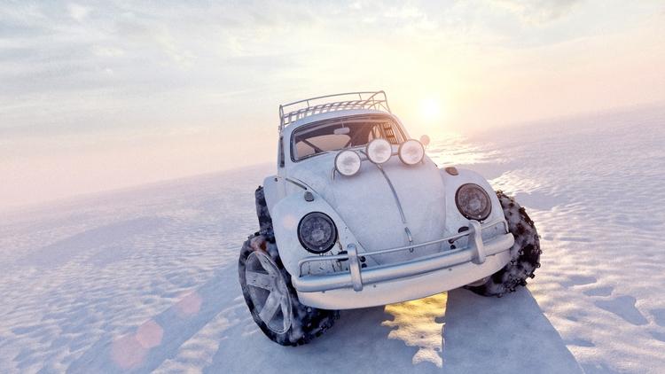 Extrem VW Baja Buggy - illustration - remytrapp | ello