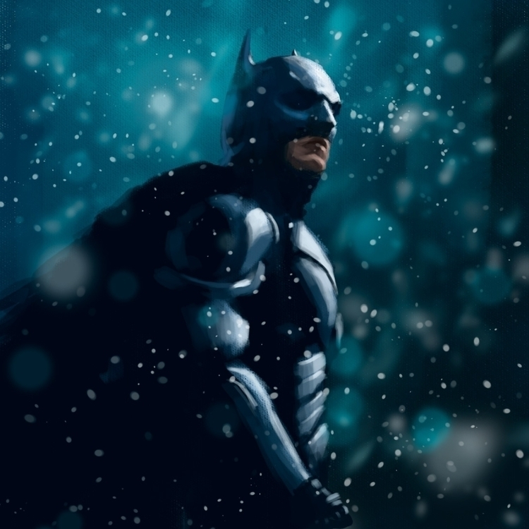 BM Digital Painting 2016 - batman - siberian_sweaters | ello