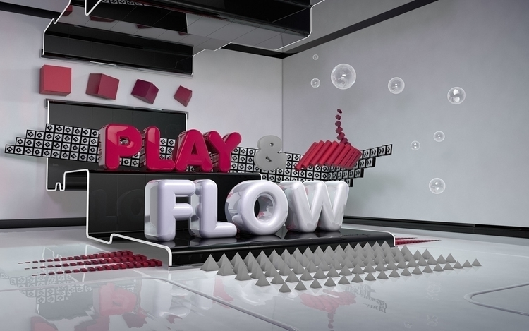 Play Flow por Estación Nómada - 3d - jstleon | ello