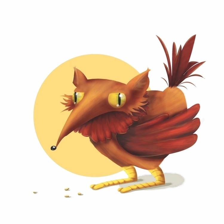 Cock-cock-coyote - illustration - macbeth-9268 | ello
