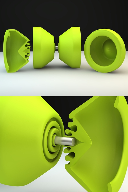 Yo-Yo Render - cinema4d, yoyo, throw - upem | ello