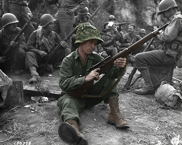 WW2 Sniper Recolor - Photoshop, WWII - upem | ello
