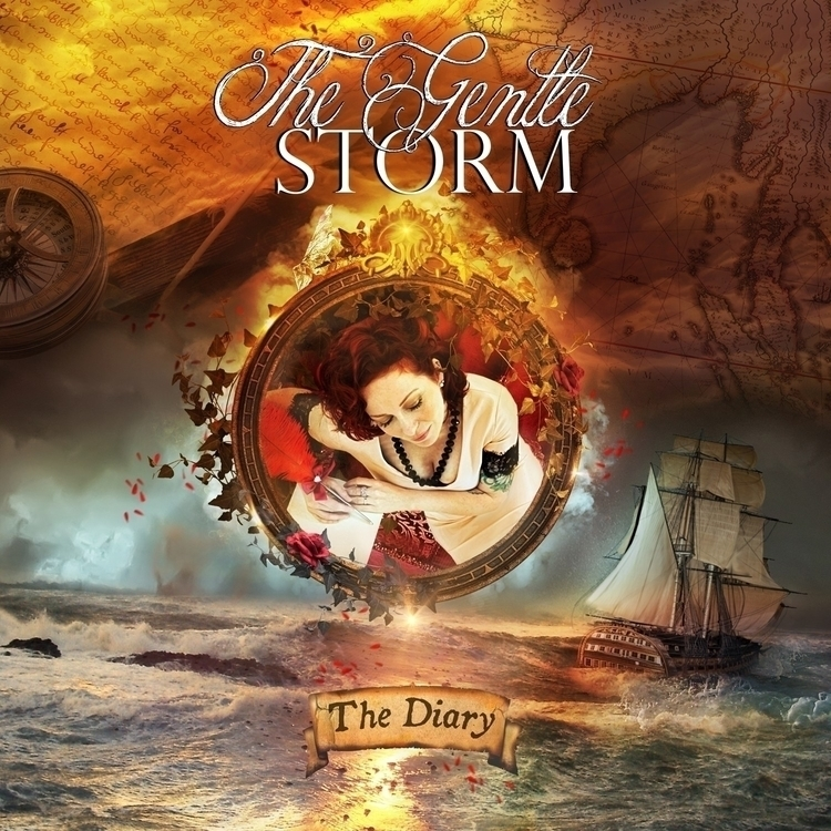 Gentle Storm - Diary Cd cover a - alexandravbach-5892 | ello