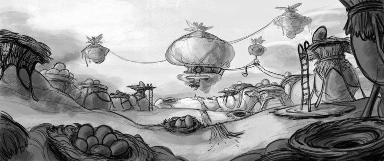 Layout Cloud Colony area - lpetty | ello