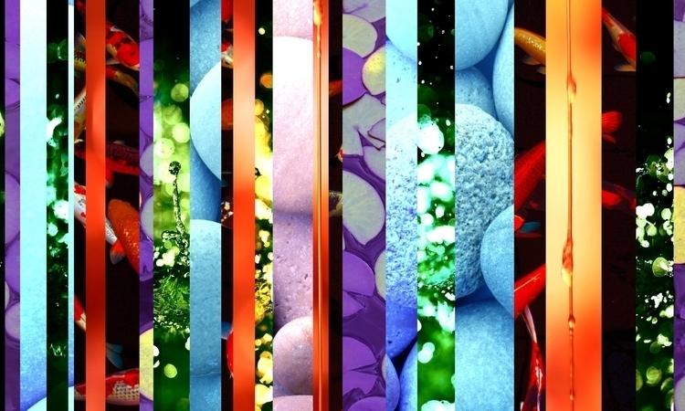 Zen Bend - zen, nature, digitalcollage - banzaiblazer | ello