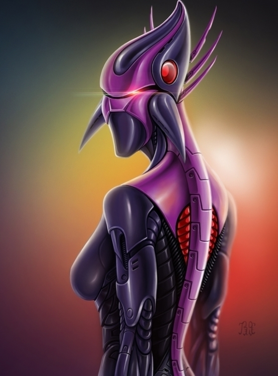 Athena - painting, characterdesign - lnpbr_b9 | ello