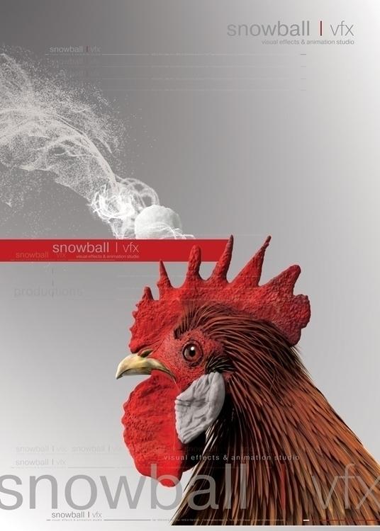 Snowball VFX branding - print, publishing - rubenmalayan | ello