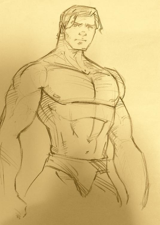 pose_01 - drawing - naazunutty | ello