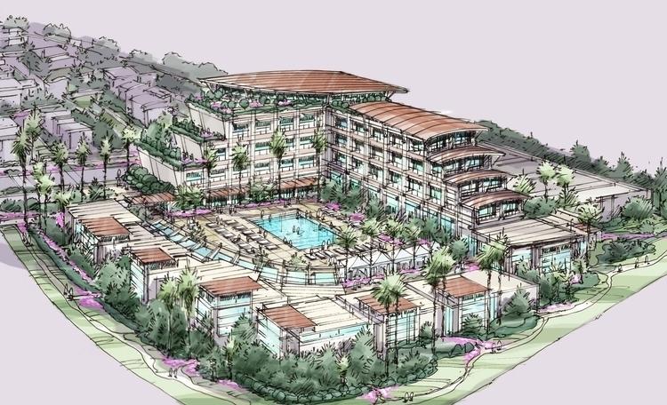 Resort Concept Sketch - #architecturalsketches - rpoling | ello