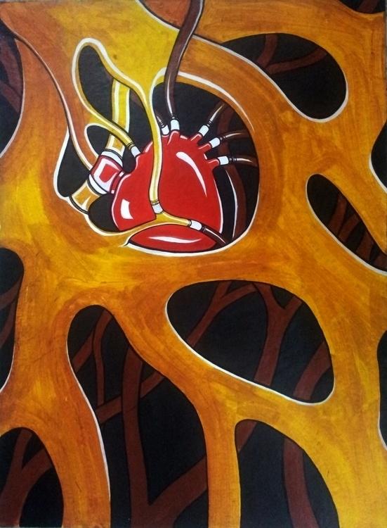 Tree heart - painting, conceptart - lnpbr_b9   ello