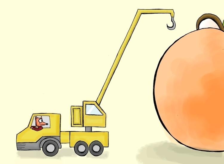 Fantasy Fox Giant Peach - jamesandthegiantpeach - arvindm | ello