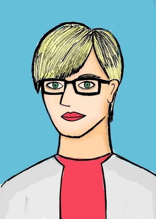 Carol - people, illustration, office - arvindm | ello