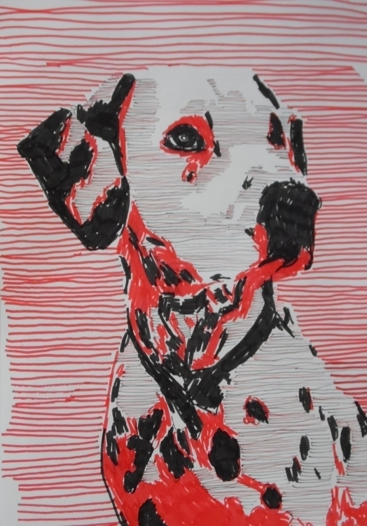 Dalmatian dog - dogs, animal, animals - kleckerlabor-5193 | ello