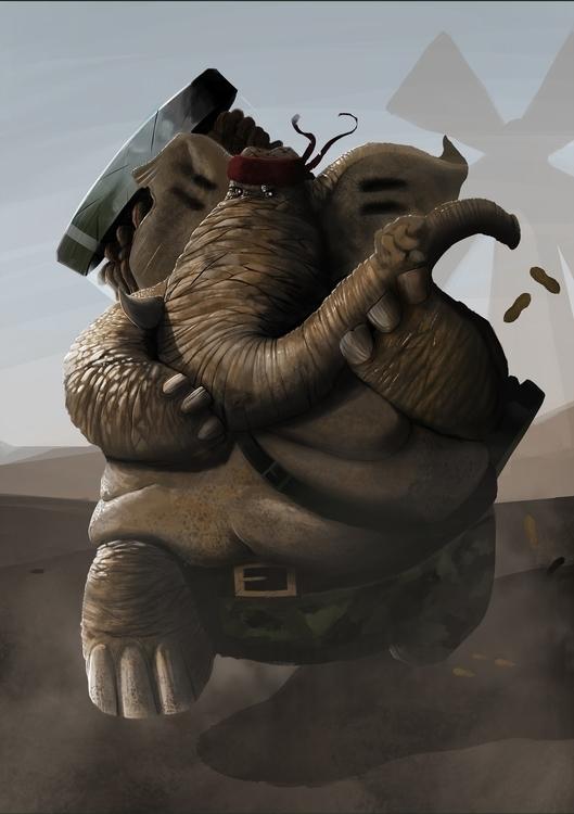 Chickens - Swine Axis - illustration - leleskine | ello
