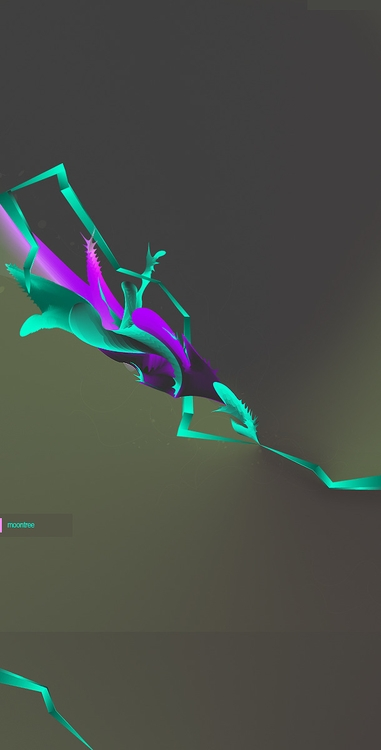 Moontree. lot hehe - abstract, colorful - atsukosan-3588 | ello