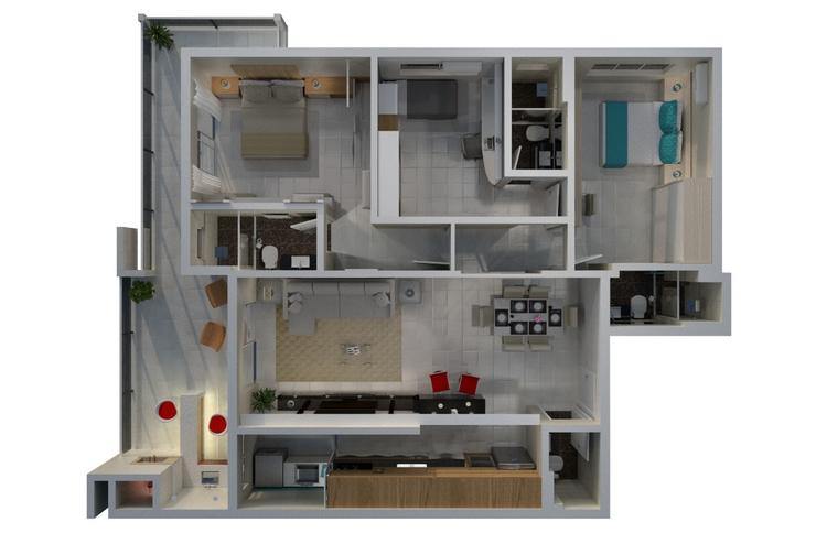 3d, architecture, blender3d, cgi - camilacanani | ello