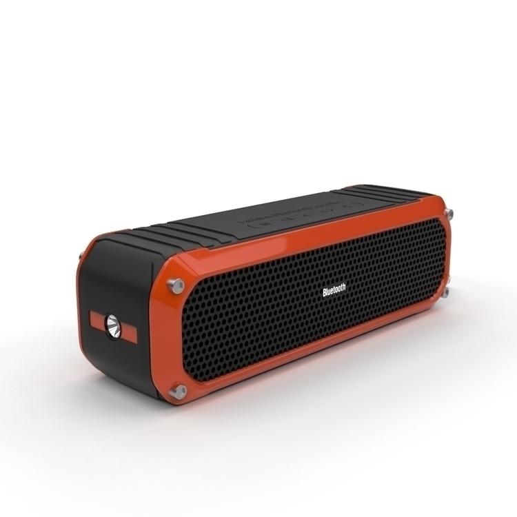 Waterproof Bluetooth Speaker - 3d - 3dbrianrincon | ello