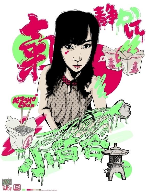 Sayuki Shizukani Illustration h - atsukosan-3588 | ello