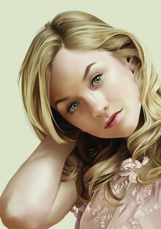 Portrait Emily Kinney (Beth Wal - aeme | ello