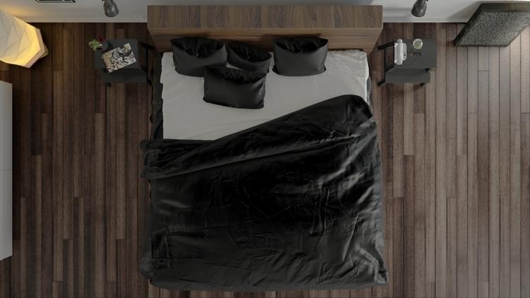 Bed2 - 3d, 3dart, 3dsmax, vray, vrayrender - gmad | ello