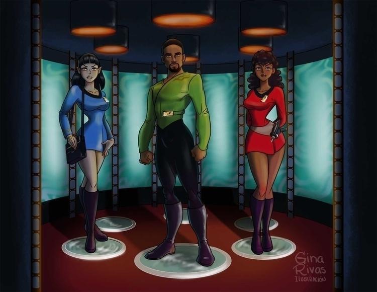 Star Trek Transporter - startrek - ginarivas | ello